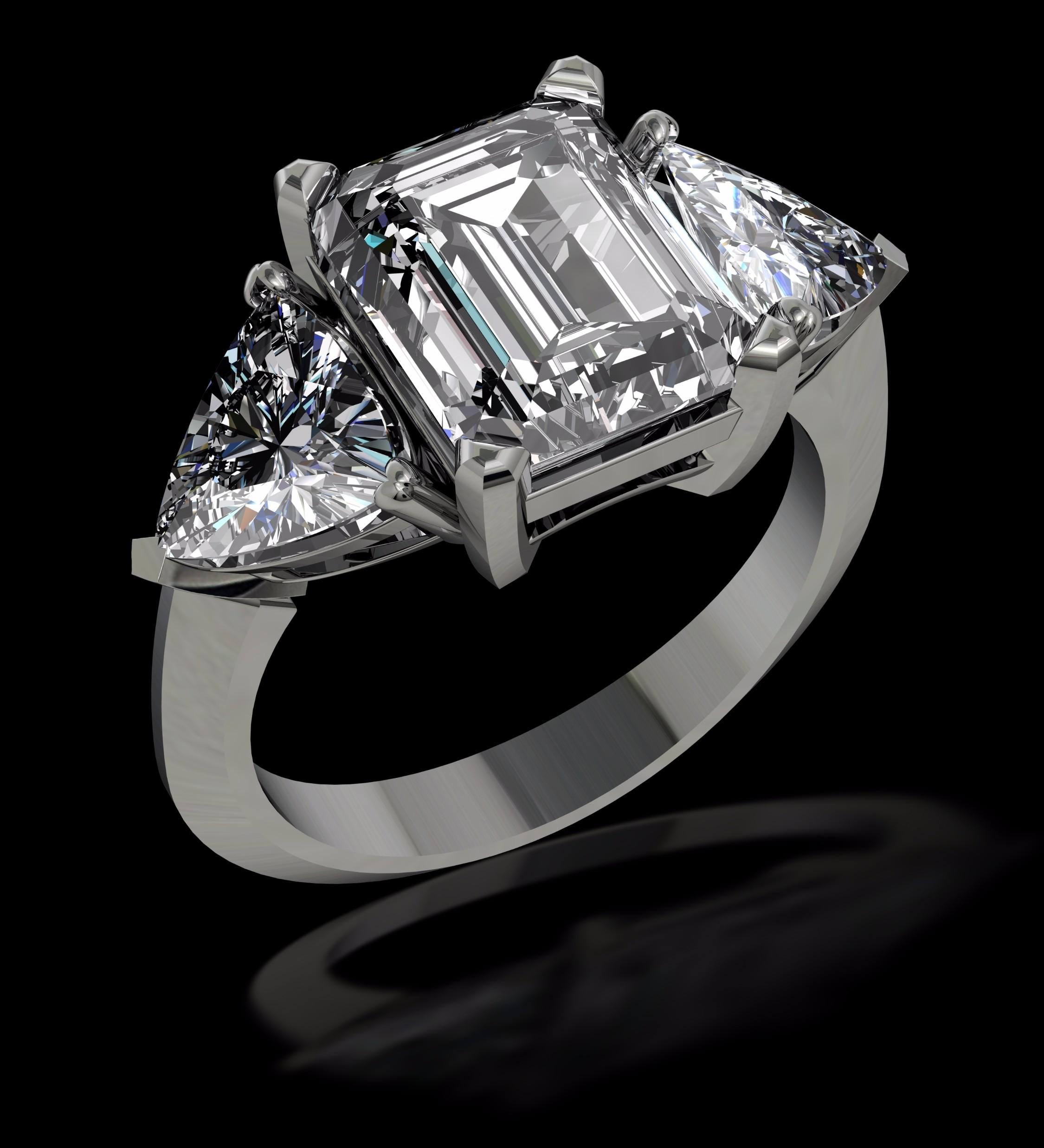emerald cut diamond