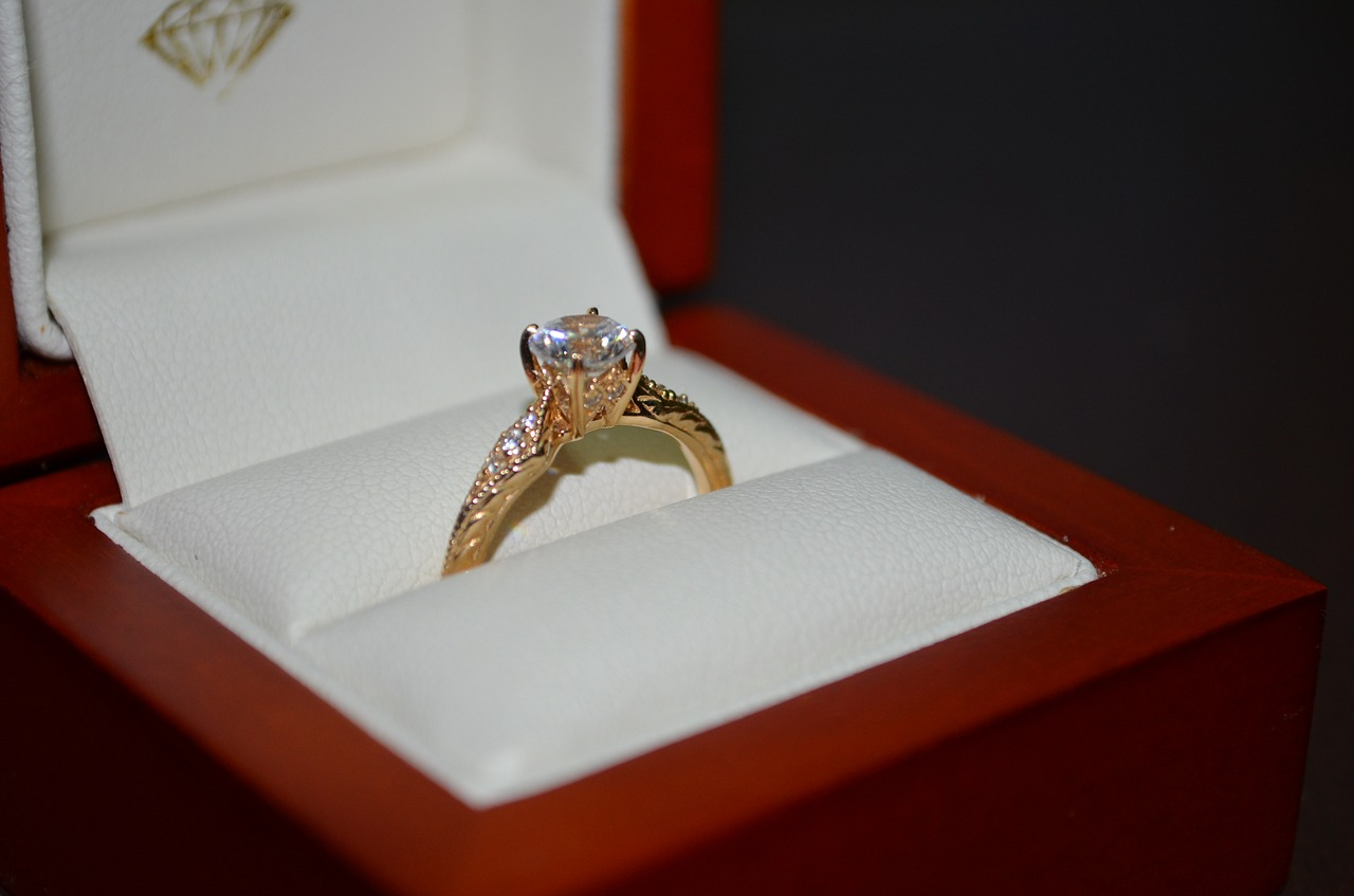 the different types of rings include the popular solitaire ring
